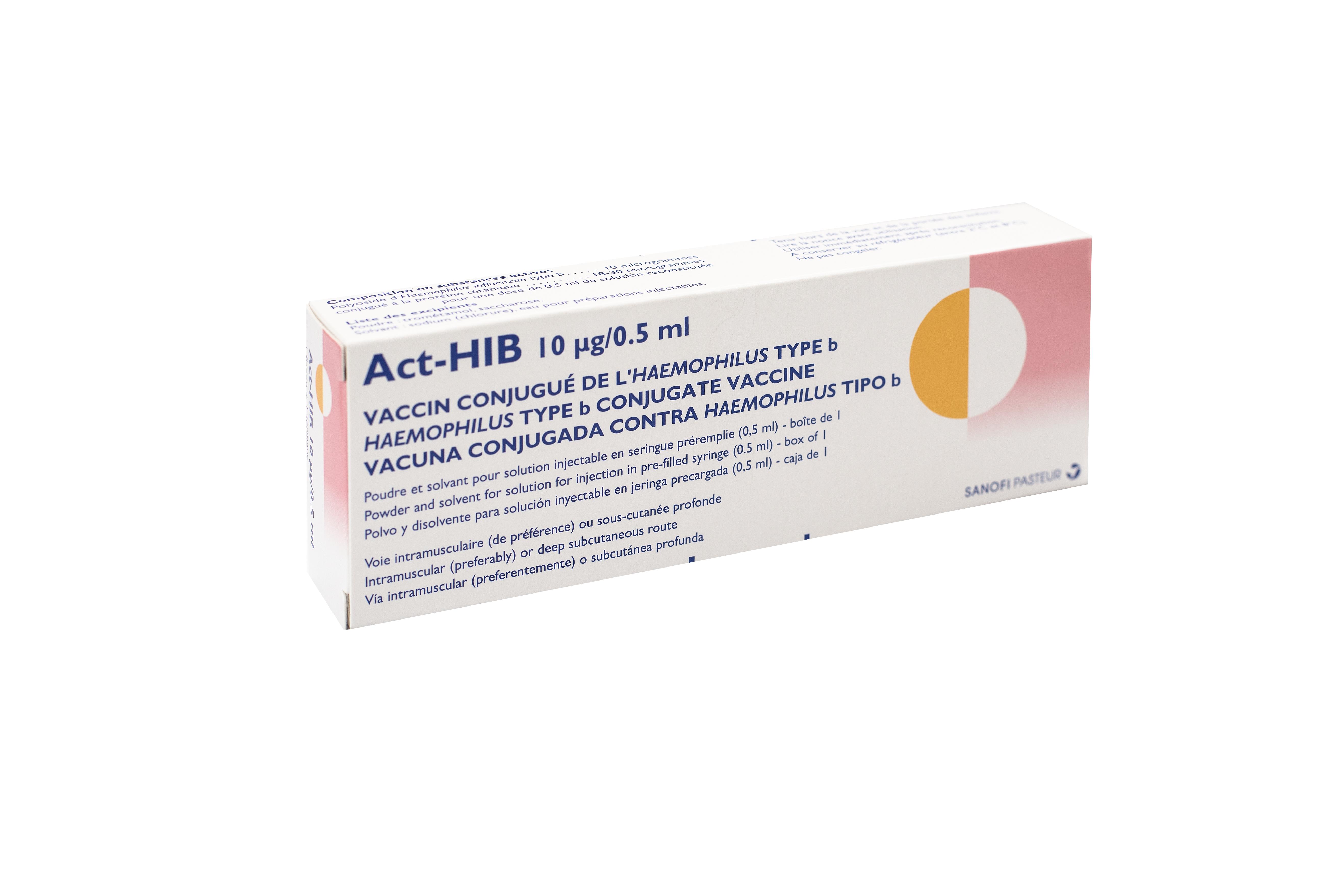 乙型流感嗜血桿菌 (Hib) 疫苗